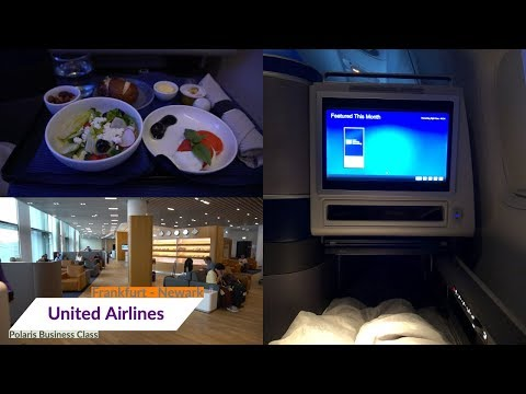 United Airlines NEW POLARIS Business Class | Boeing 777-300ER | MY CLOUD Hotel | FRA -EWR