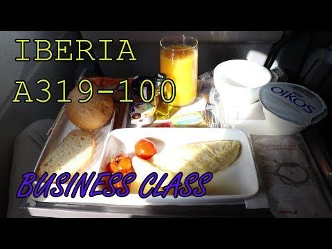 Iberia | Business Class | A319-100 | Frankfurt - Madrid | Trip report 2017