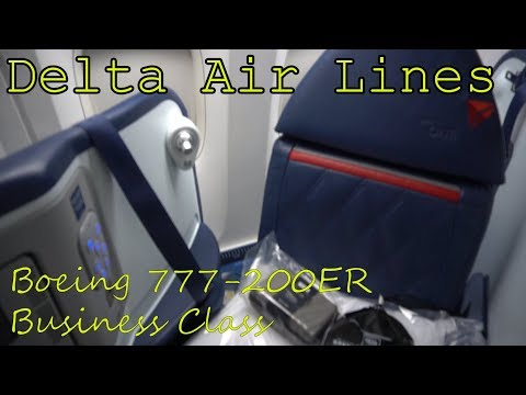 Delta Boeing 777-200ER | Would you book it? Delta One Business Class | Atlanta to Amsterdam
