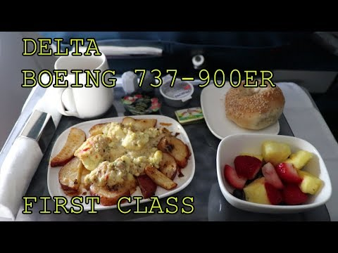 Delta 737-900ER First Class | How good is it? New York - Punta Cana