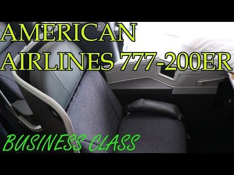 American Airlines Business Class   Boeing 777-200ER Retrofit   Madrid - Miami