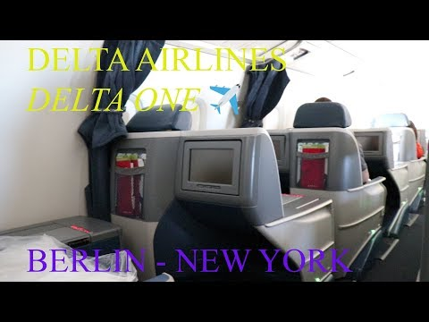 Delta One Business Class | Boeing 767-300ER | Berlin-New York | Trip report