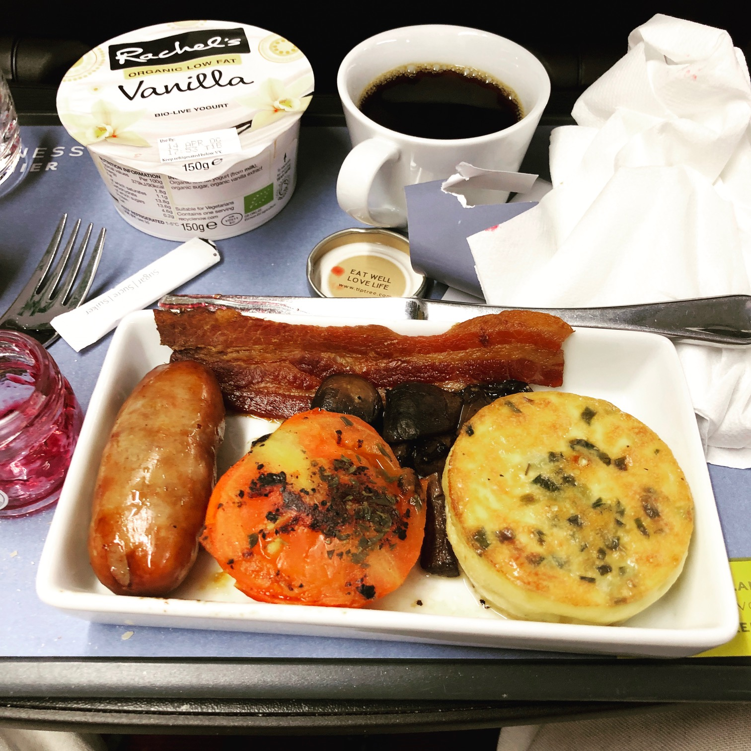 Breakfast Eurostar Business Premier
