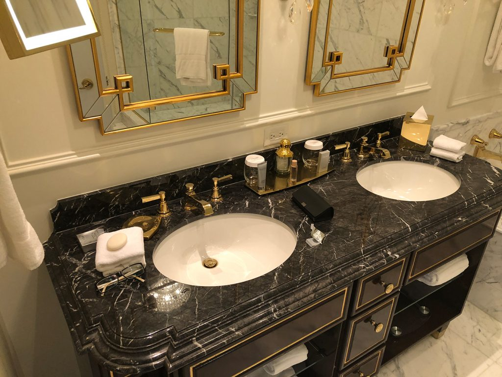 Bathroom Trump International Hotel Washington D.C.