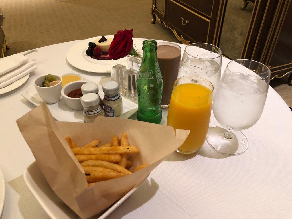 Trump International Hotel Washington D.C. In-room Dining