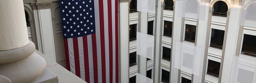 Lobby Trump International Hotel Washington D.C.